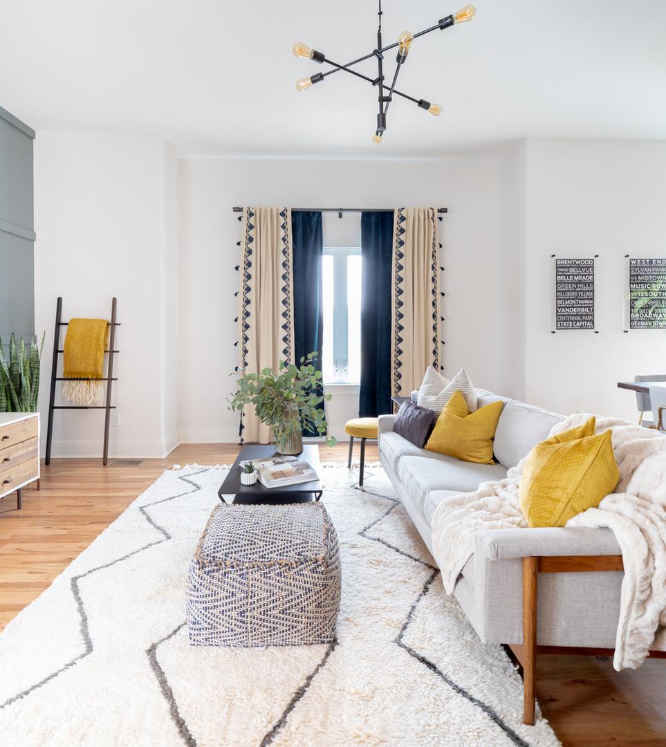 TrendyTrinhberlake Living Room Sputnik Chandelier
