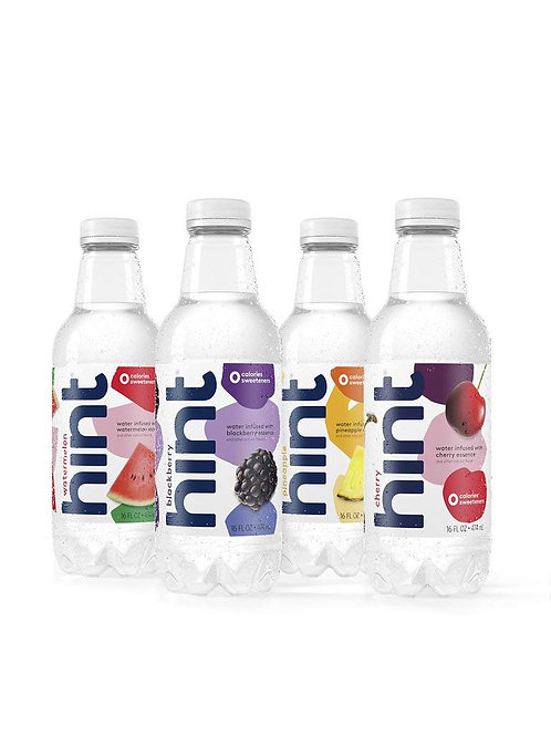 Hint Fruit Infused Water, Variety Pack, Cherry, Watermelon, Pineapple, Blackberr