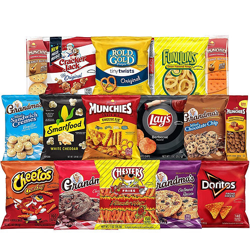 Frito-Lay Ultimate Snack Care Package, Variety Assortment of Chips, Cookies, Cr
