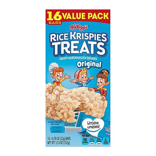 Kellogg's Rice Krispies Treats, Crispy Marshmallow Squares, Original, Value Pack