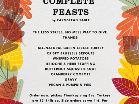 Thanksgiving Dinner = Done.