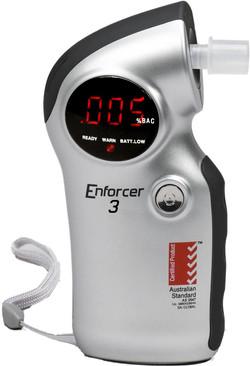 Enforcer 3 breathalyser unit