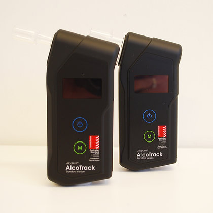 2 X AlcoLimit AlcoTrack Breathalyser