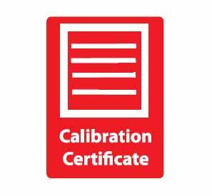 CALIBRATION CERTIFICATE (ALCO-022)
