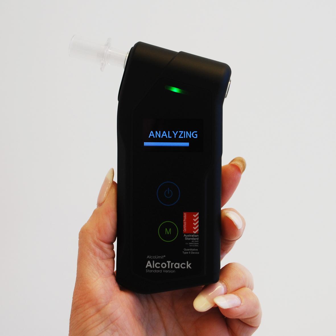AlcoTrack Analysing Display