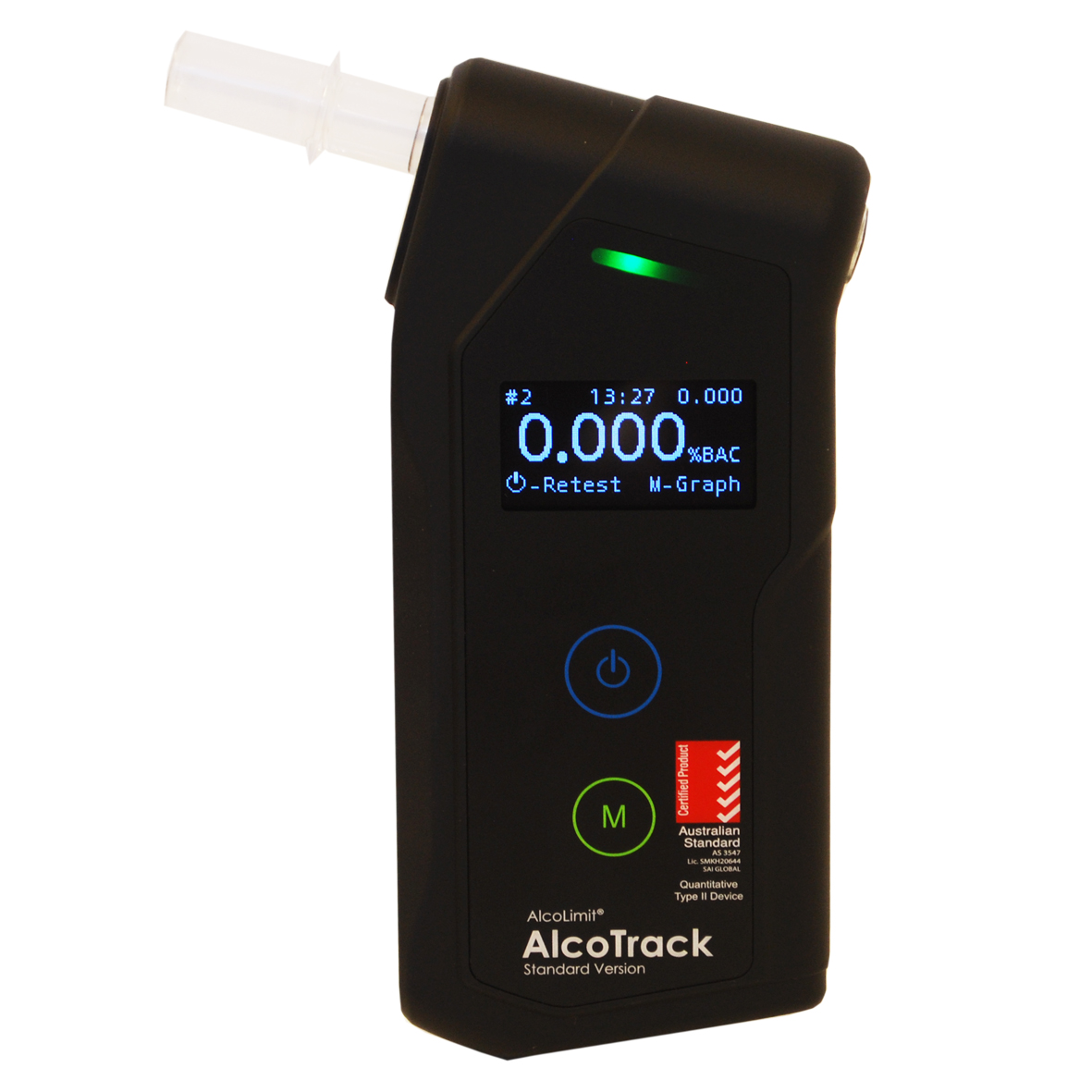 AlcoTrack Front Display