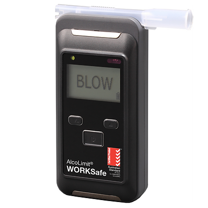 2 x ALCOLIMIT WORKSAFE BREATHALYSER (ALCO-065)