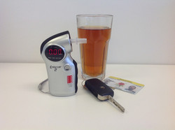Breathalyser with beer