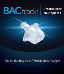 ALCOLIMIT BACTRACK MOUTHPIECES - 50 PACK (ALCO-063