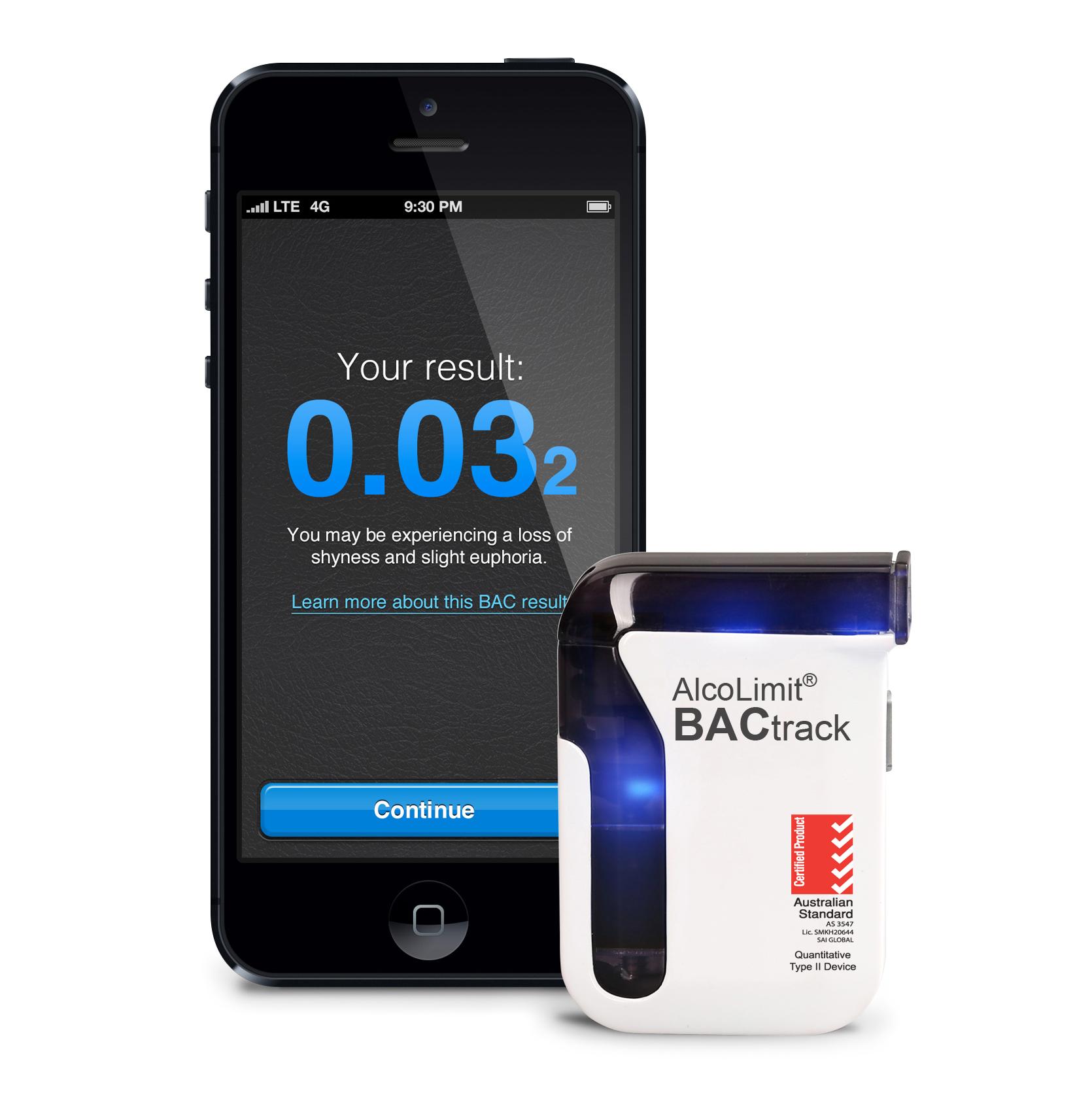 BACtrack iphone