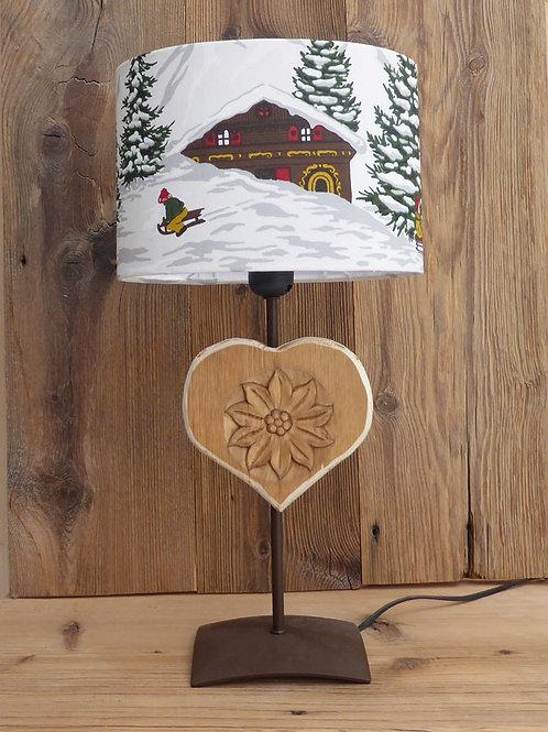 LAMPE 4 EDELWEISS