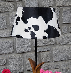 abat jour vache