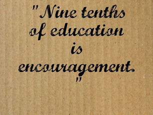 Nine-tenths of education...