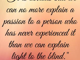 Explain a Passion