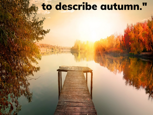 Describing Autumn
