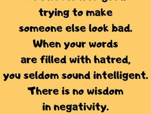 No Wisdom