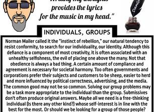 Individuals-Groups