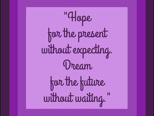 Hope for the...