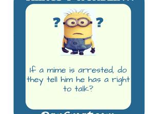 Mime Arrested