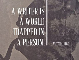 A Writer is...