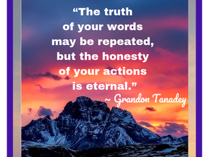 Words and Actions