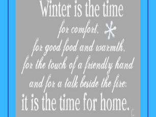 The Time for Home