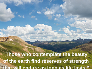 The Beauty of the Earth