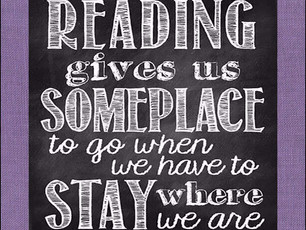 Reading Gives Us...