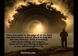 Faith at the Edge of Light