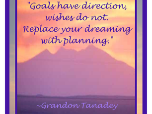 Goals and Wishes
