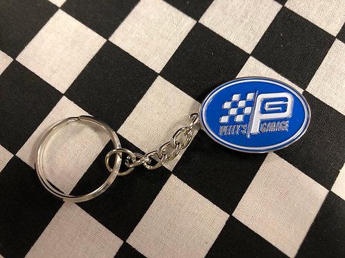 Petty's Garage Key Chain