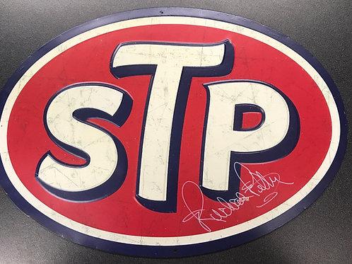 STP Metal Sign