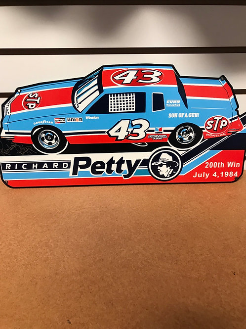Richard Petty's 1984 200th Win Pontiac