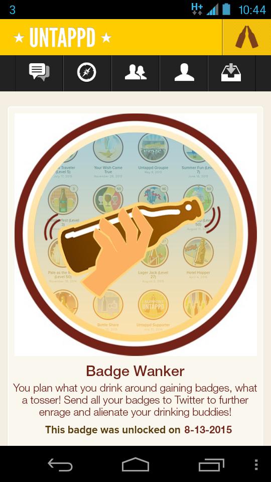 BadgeWanker