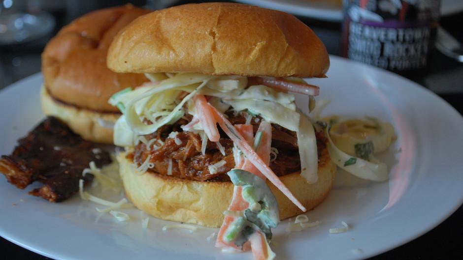 Beavertown Smog Rocket Pulled Pork Burger Recipe