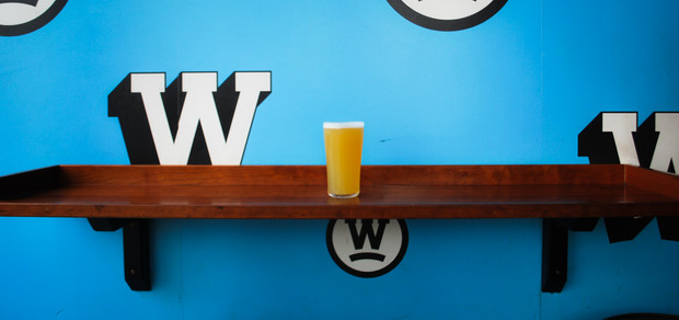 A Pint in Waterloo Tap