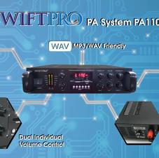 SWIFTPRO PA System PA1100