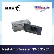 "NEST AMP Piezo Tweeter NX-5 2""x5"""