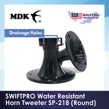 SWIFTPRO Water Resistant Horn Tweeter SP-218 (Round)