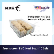 Transparent Nest Box (10 sets) - 500g packing