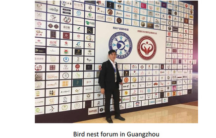 Participation in GuangZhou bird nest association activities