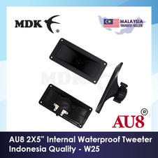 "AU8 W25 Water Resistant Tweeter 2""x5"""