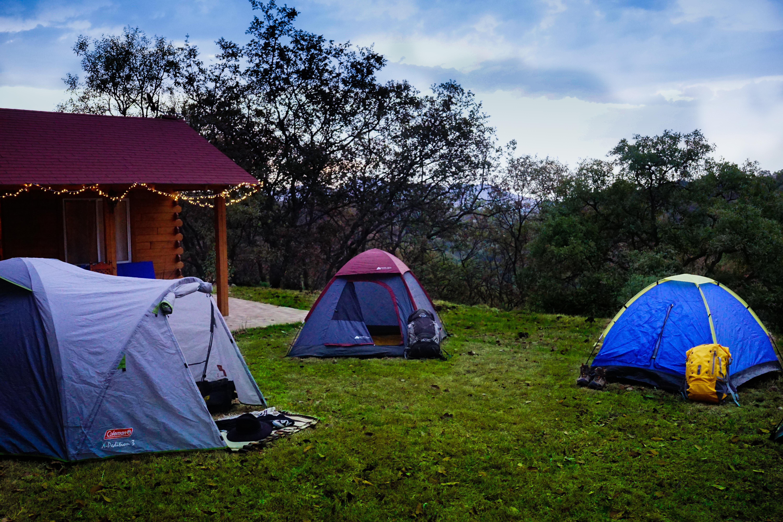 Camping al aire libre