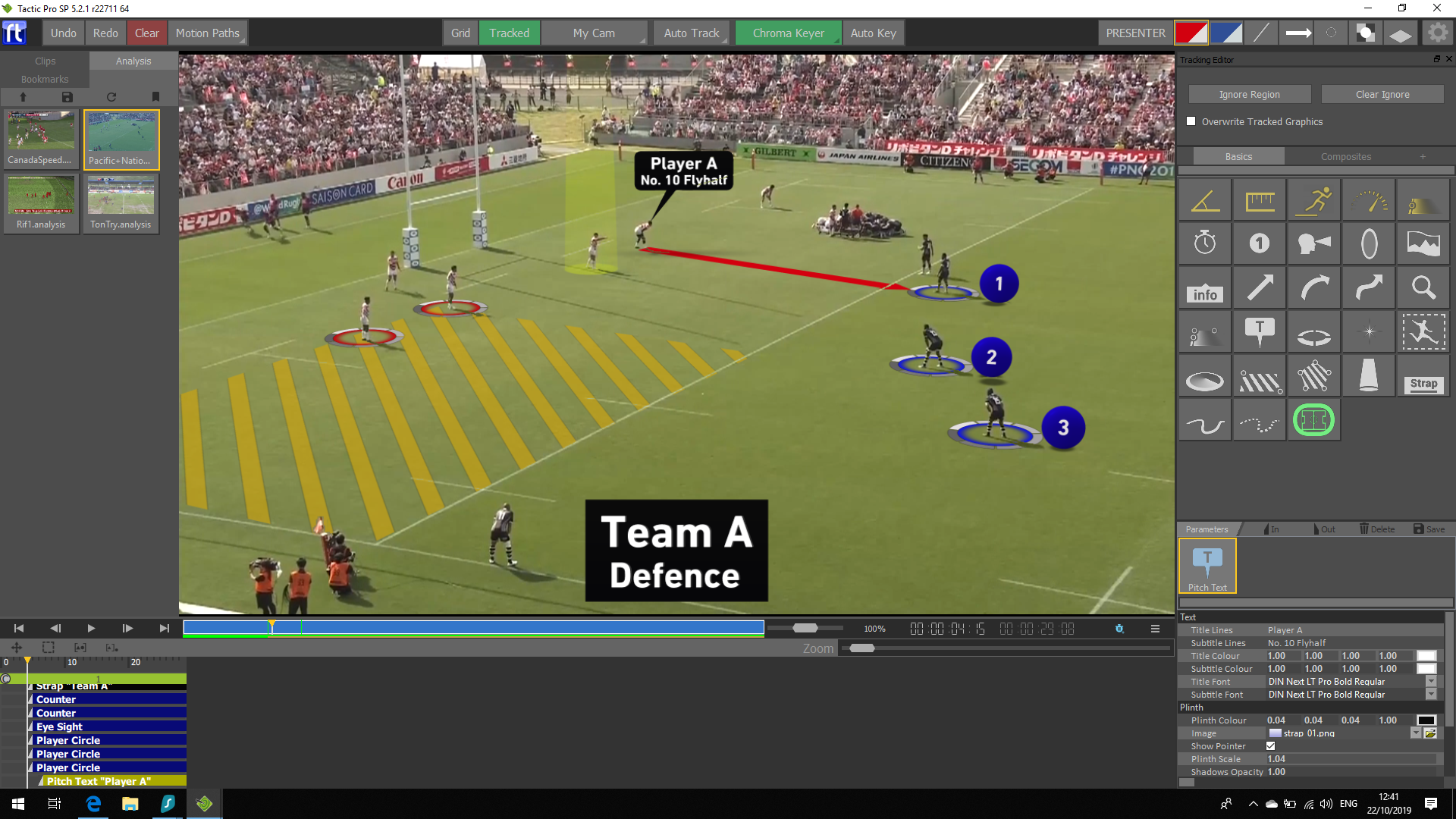 Tactic - Sport Video Analysis