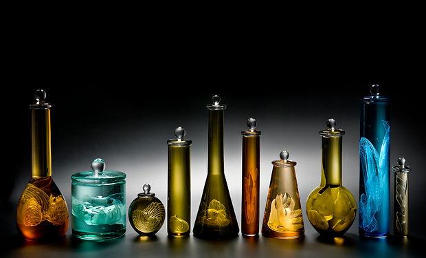 Louis Thompson Glass Sigmund Freud Bottl