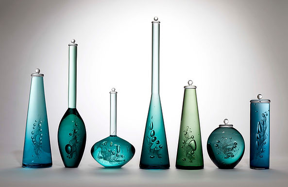 Louis Thompson Glass Bottles 35 Installa