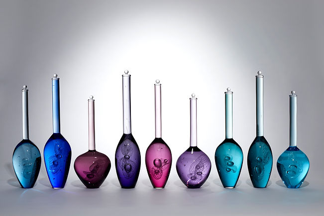 Louis Thompson Glass Bottles Archive of