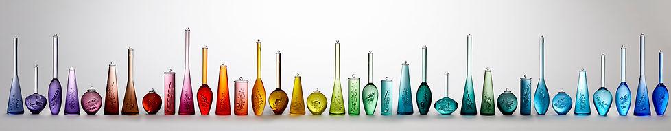 Louis Thompson Glass Bottles 35 Piece In