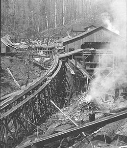 Thomas Creek History