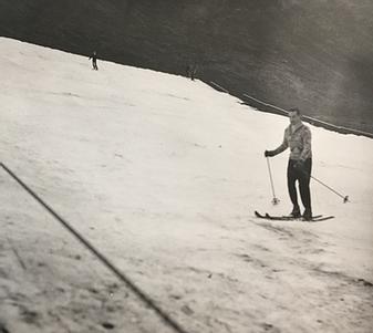 Skiiing On Rattlesnake Mountain?